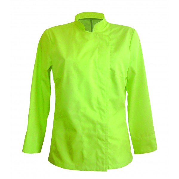 Veste de cuisine femme de couleur